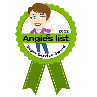 Angies List 2012 - Super Service Award